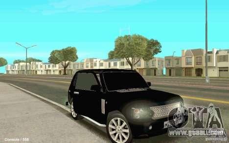 Lada Niva for GTA San Andreas right view