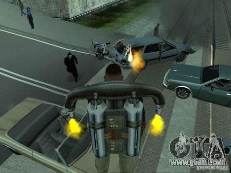 The realistic blast machines for GTA San Andreas fifth screenshot