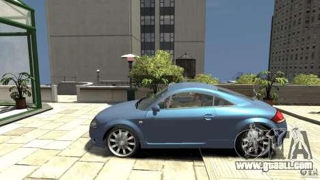 Audi TT 1.8 (8N) for GTA 4 left view