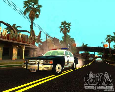 Chevrolet Caprice 1986 SFPD for GTA San Andreas