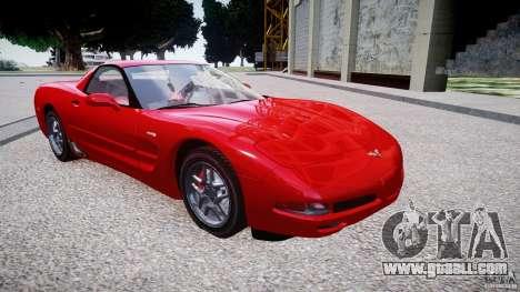 Chevrolet Corvette C5 v.1.0 EPM for GTA 4 back view
