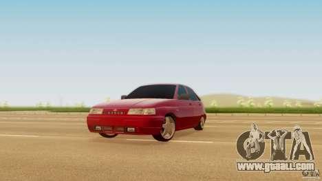 VAZ-2112 for GTA San Andreas