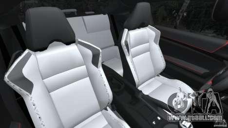 Scion FR-S for GTA 4 inner view