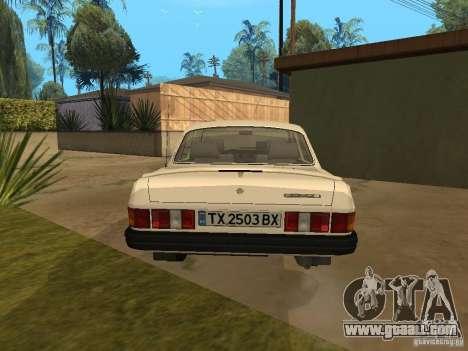 Volga GAZ 31029 for GTA San Andreas back left view