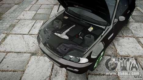 BMW M3 e46 2005 for GTA 4 bottom view