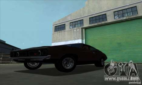 Ford Falcon GT Pursuit Special V8 Interceptor for GTA San Andreas back left view
