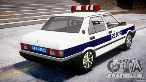 Tofas Sahin Turkish Police v1.0 for GTA 4 inner view