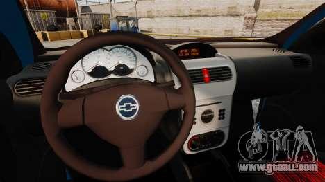 Chevrolet Montana FIXA for GTA 4 inner view