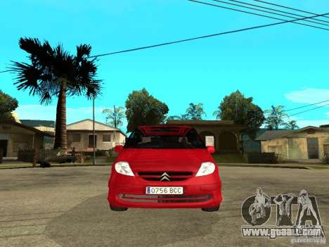Citroen C8 for GTA San Andreas right view