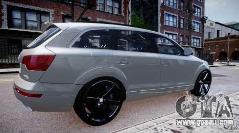 Audi Q7 LED Edit 2009 for GTA 4 left view