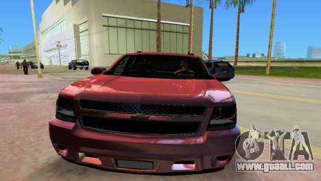 Chevrolet Tahoe 2011 for GTA Vice City back left view