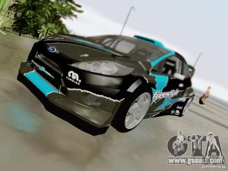 Ford Fiesta RS for GTA San Andreas side view