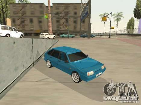 VAZ 21093 Tuning for GTA San Andreas back left view