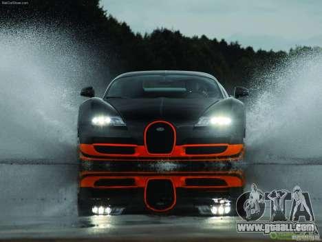 Loading Screens Bugatti Veyron for GTA San Andreas