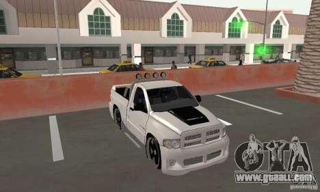 Dodge Ram SRT-10 Tuning for GTA San Andreas