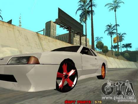 Elegy 29-13 for GTA San Andreas inner view