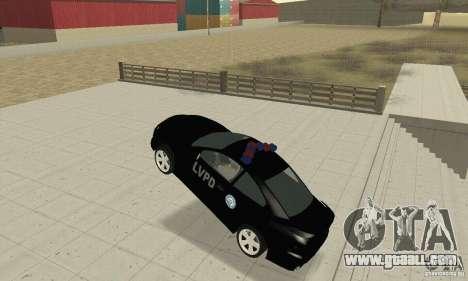 Pontiac GTO 2004 Cop for GTA San Andreas back view