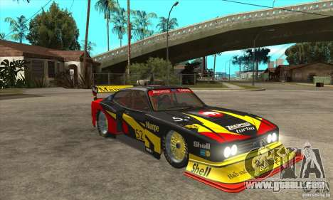 Ford Zakspeed Capri Mk3 (1978-1983) for GTA San Andreas back view