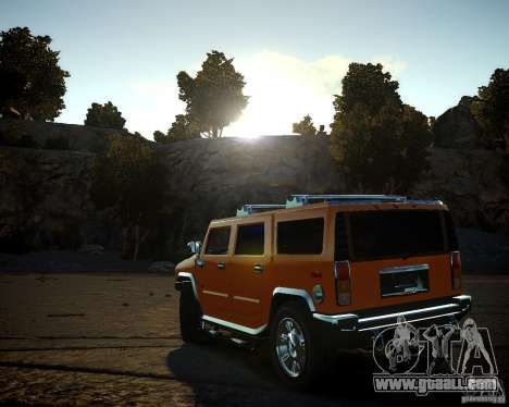 Hummer H2 2010 Limited Edition for GTA 4 side view