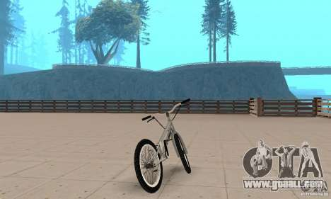 CS bikes BMX for GTA San Andreas left view