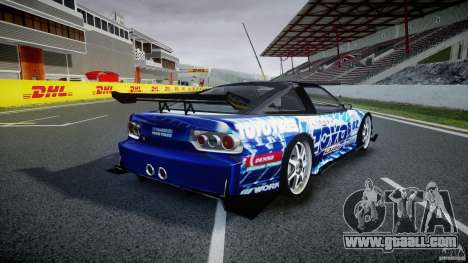 Nissan 240sx Toyo Kawabata for GTA 4 upper view