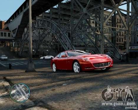 Ferrari 612 Scaglietti for GTA 4 left view