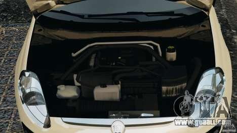 Fiat Punto Evo Sport 2012 v1.0 [RIV] for GTA 4 upper view