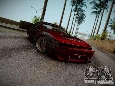 Nissan Silvia S13 Daijiro Yoshihara v2 for GTA San Andreas left view
