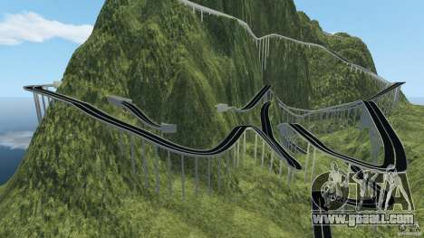 MG Downhill Map V1.0 [Beta] for GTA 4 second screenshot