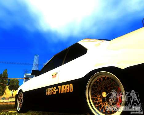 Nissan Skyline RS TURBO (R30) for GTA San Andreas right view