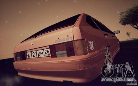 Ваз 2114 Juicy Orange for GTA San Andreas right view