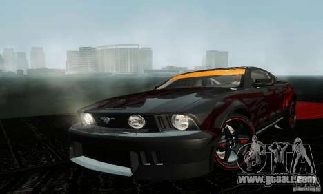 Ford Mustang GT Tunable for GTA San Andreas left view