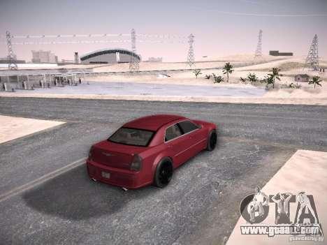 Chrysler 300C SRT8 for GTA San Andreas inner view