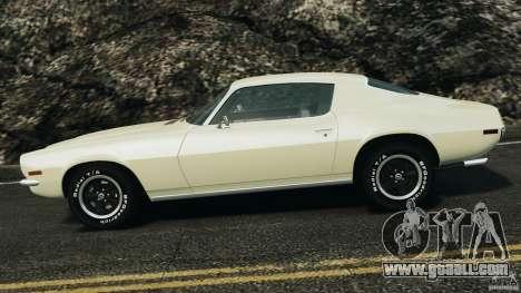 Chevrolet Camaro 1970 v1.0 for GTA 4 left view
