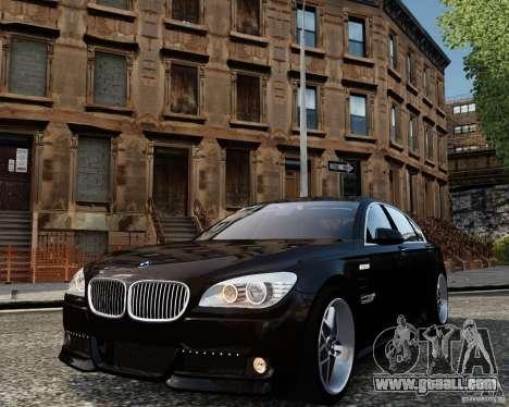 BMW 750Li (F02) Hamann 2010 v2.0 for GTA 4