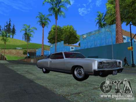 Chevrolet Monte Carlo 1970 for GTA San Andreas left view