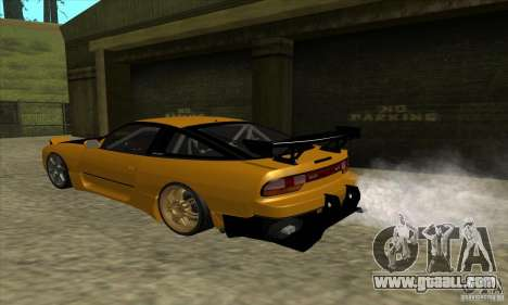 Nissan 240SX Drift Tuning for GTA San Andreas back left view