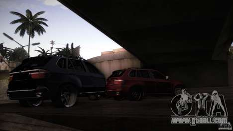 BEAM X5 Trailer for GTA San Andreas back view