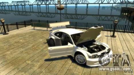 BMW E46 M3 GTR Sport for GTA 4 inner view