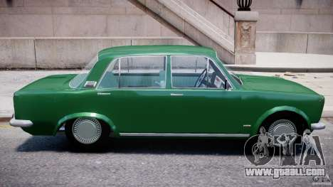 Fiat 125p Polski 1970 for GTA 4 upper view