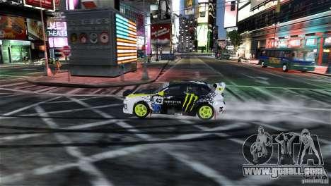 Subaru Impreza WRX STI Rallycross Monster Energy for GTA 4 side view