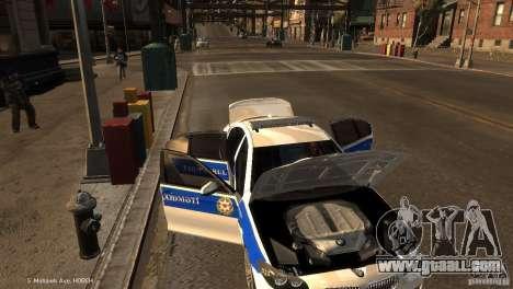 BMW 550i Azeri Police YPX for GTA 4 upper view