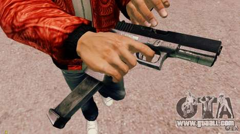 Glock 18 Akimbo (black/grey) for GTA 4 second screenshot
