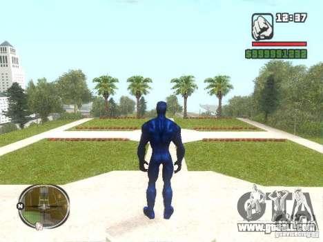 Spider Man 2099 for GTA San Andreas second screenshot