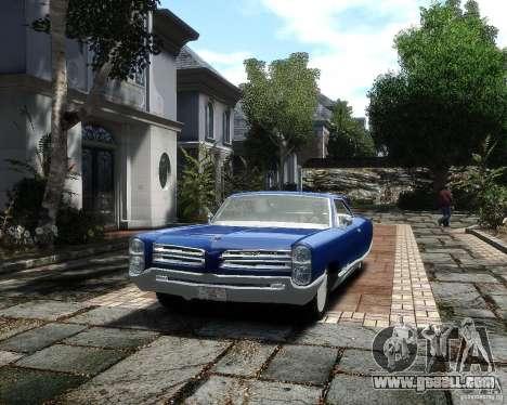 Pontiac Bonneville 1966 for GTA 4 back view