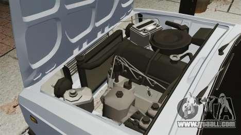 Vaz-2107 2011 DAG for GTA 4 inner view