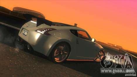 Nissan 370Z Drift 2009 V1.0 for GTA San Andreas wheels