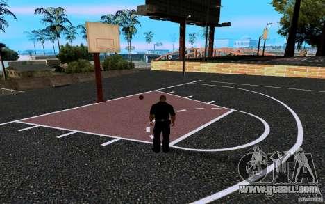 The new basketball court for GTA San Andreas sixth screenshot