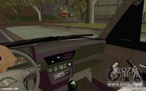 Lada Niva for GTA San Andreas back left view