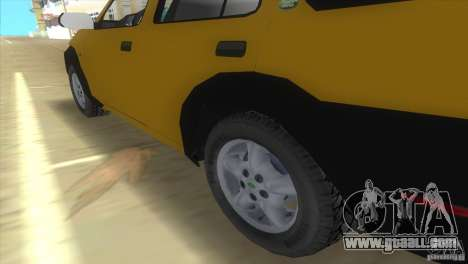 Land Rover Freelander for GTA Vice City back left view